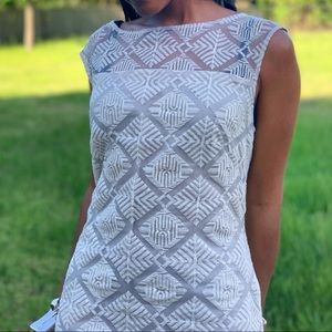 Adrianna Papell Embroiled Light Summer Dress